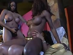 Black BBW moans while fucked deep