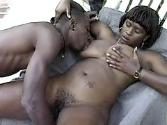 Yummy ebony BBW gets slammed hard